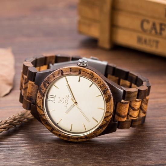 Zegarek drewniany ZD.03