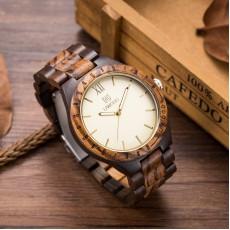Drewniane zegarki męskie