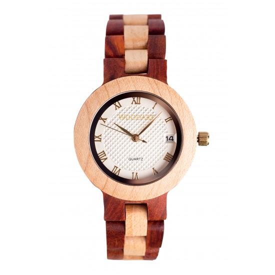 Zegarek drewniany damski ZDD.04