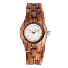 Drewniane zegarki damskie