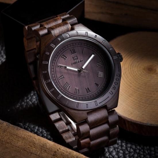 Zegarek drewniany ZD.02