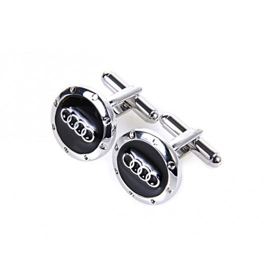 Spinki do mankietów - znaczek Audi